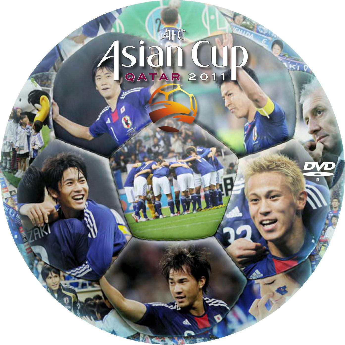 アジアカップ2011 DVDラベル