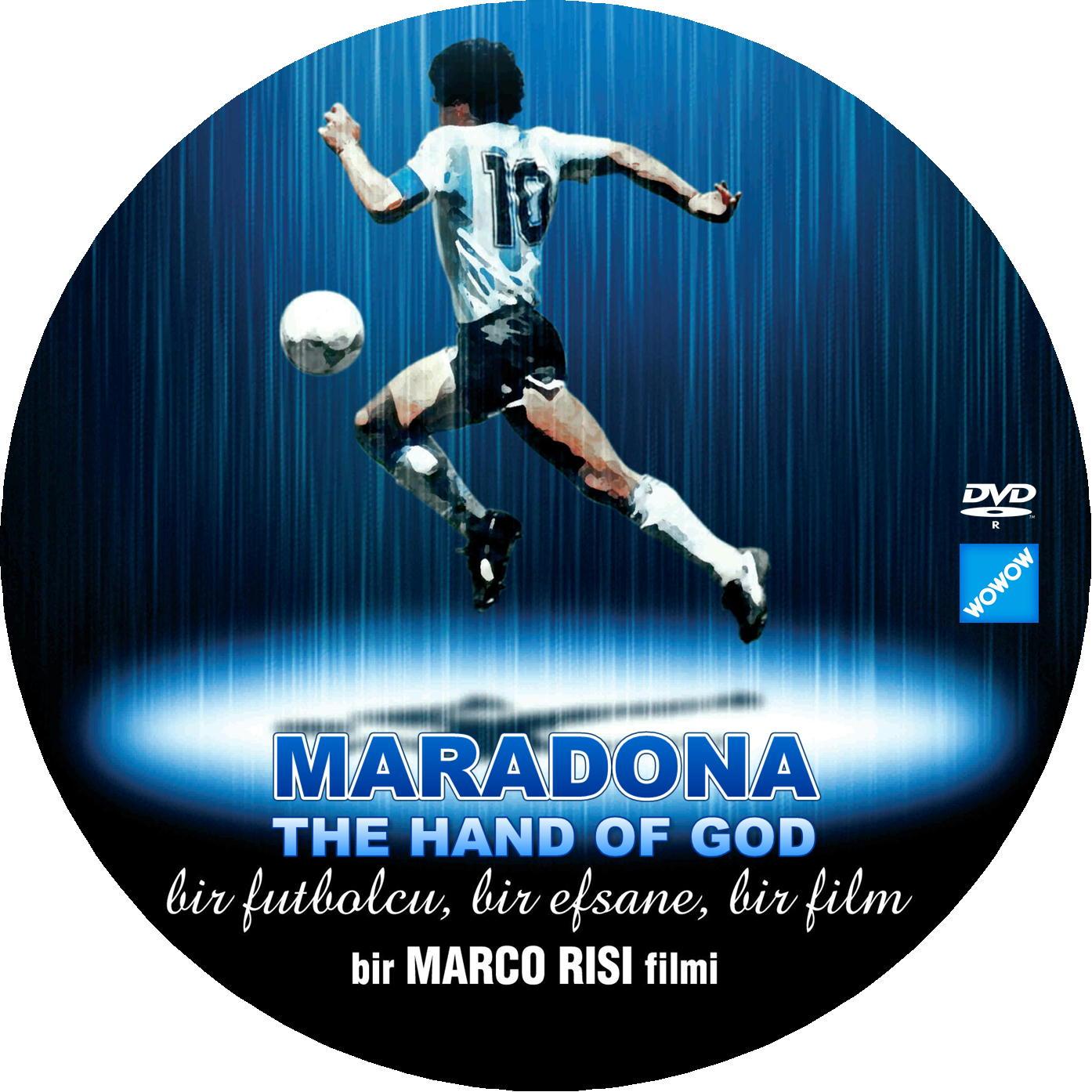 MARADONA DVDラベル