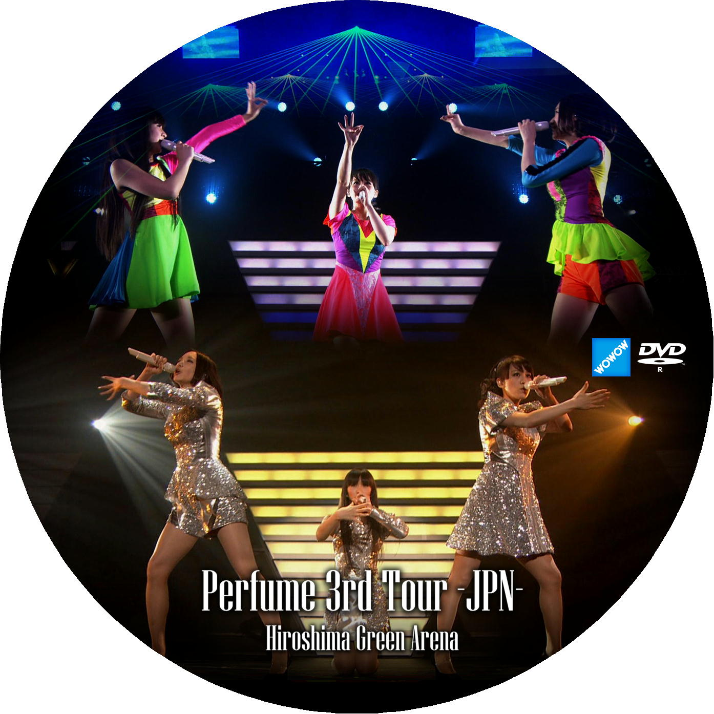 Perfume 3rd Tour JPN DVDラベル