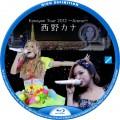 西野カナ kanayan tour 2012 BDラベル v1