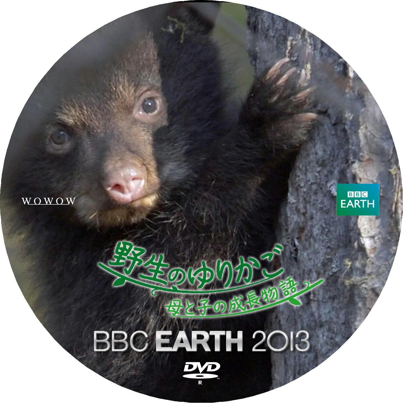 アメリカクロクマ DVDラベル