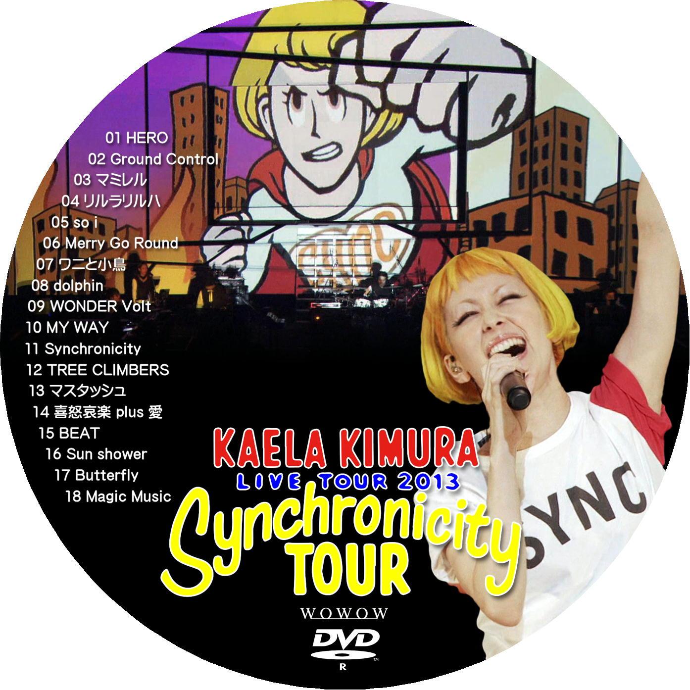 木村カエラ DVDラベル