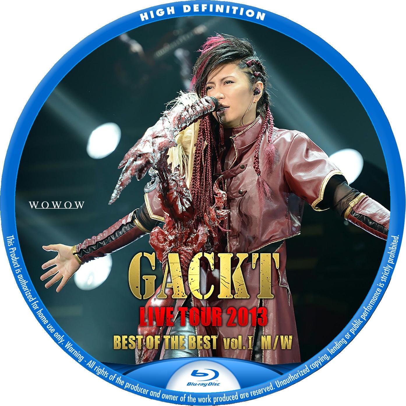 GACKT BDラベル1
