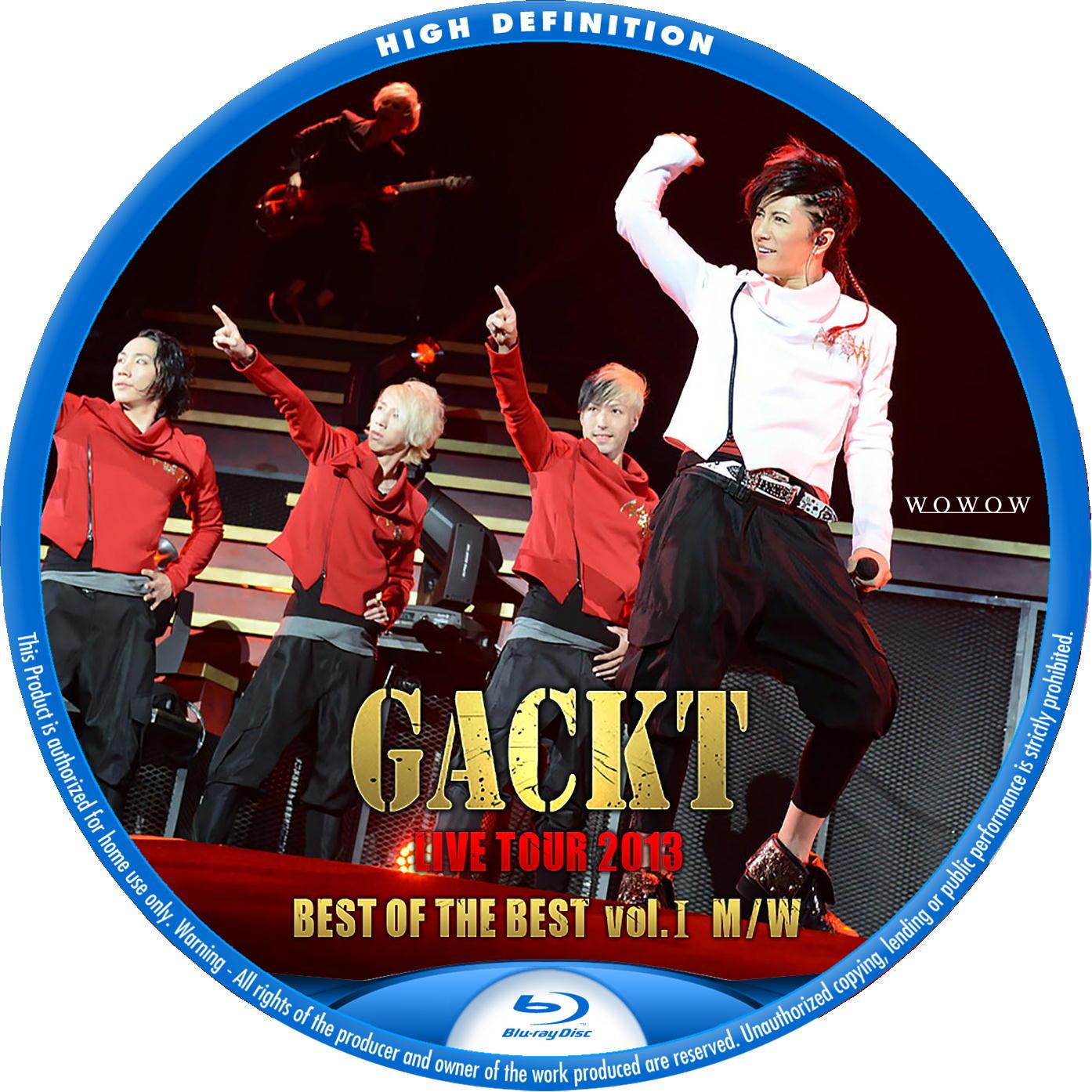 GACKT Blu-rayラベル2