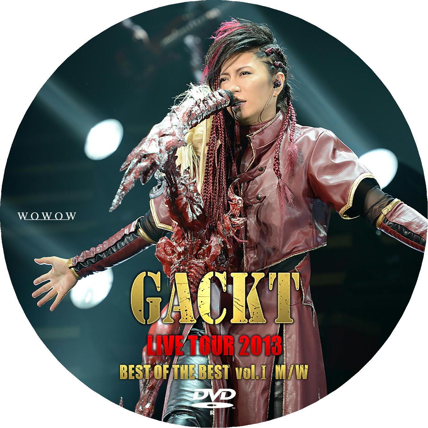 GACKT DVDラベル1