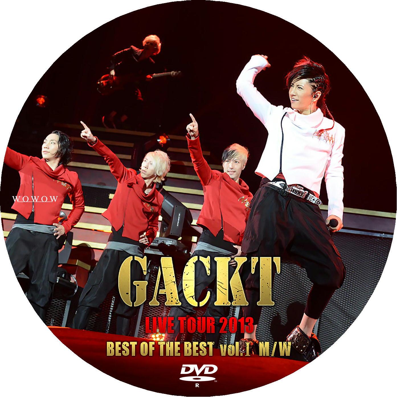 GACKT DVDラベル2