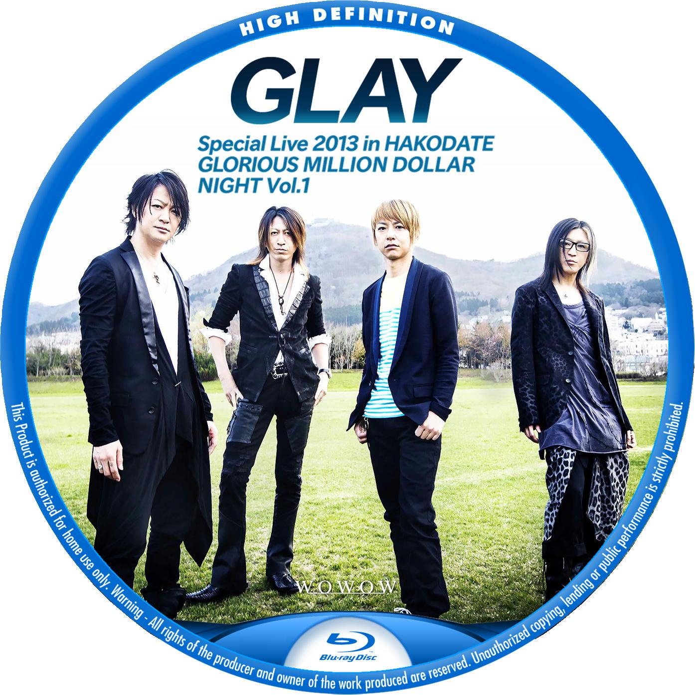 GLAY BDラベル プロモーション写真