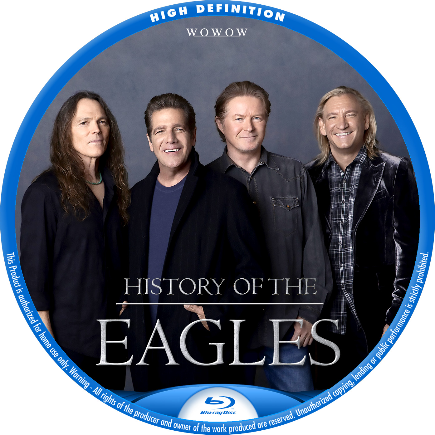 EAGLES HISTORY BDラベル