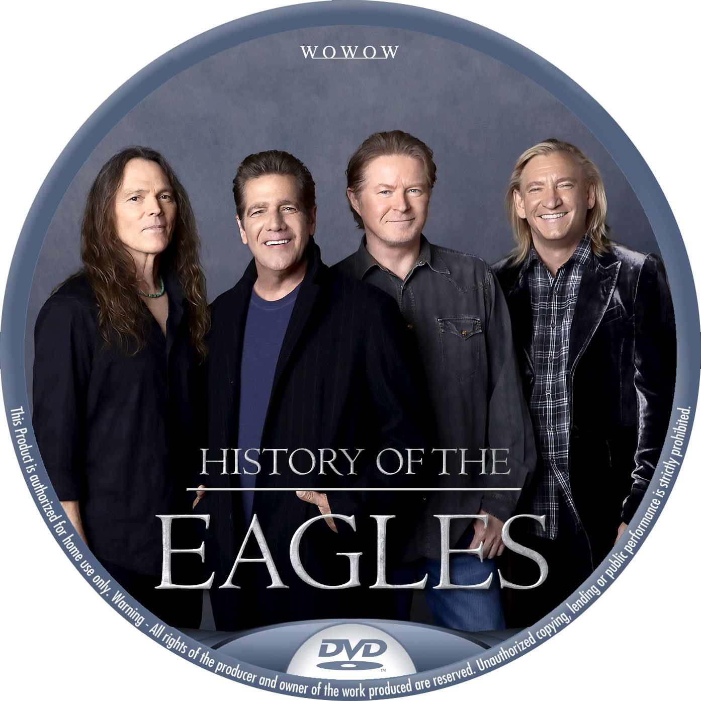 EAGLES HISTORY DVDラベル
