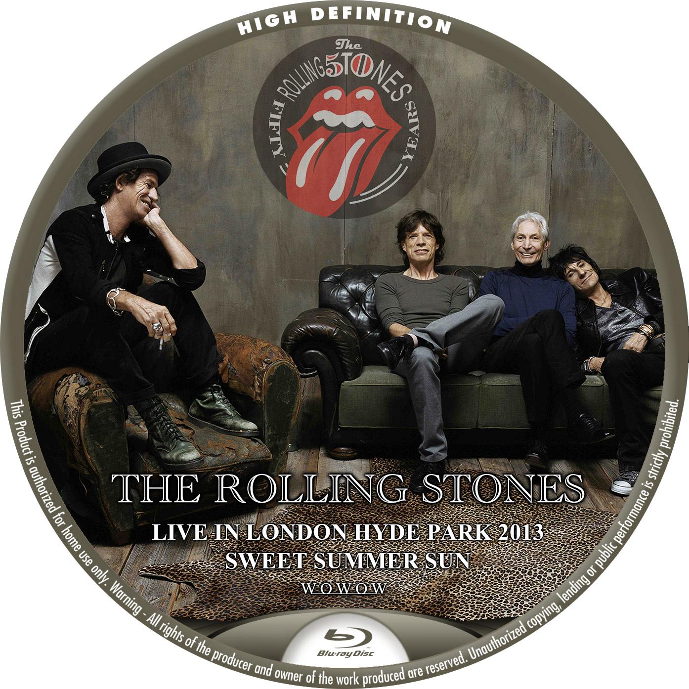 Rolling Stones LONDON BDラベル