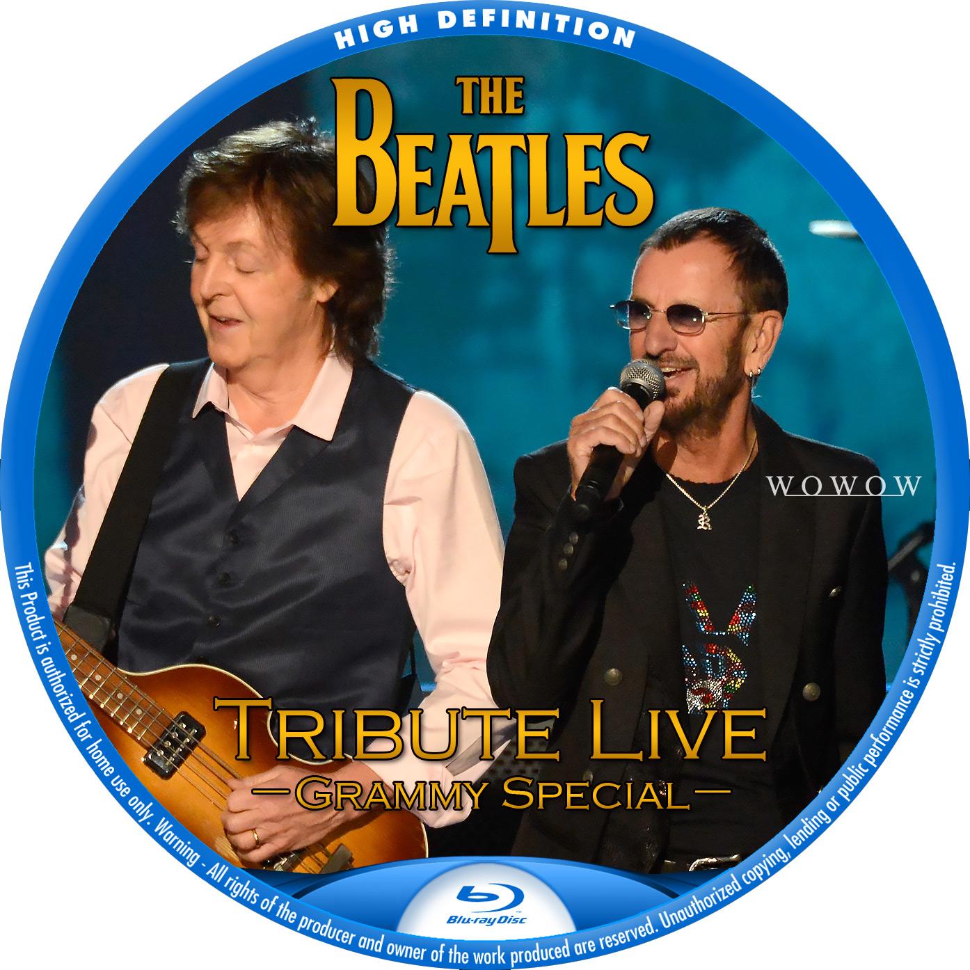 Beatles ポール リンゴ BDラベル