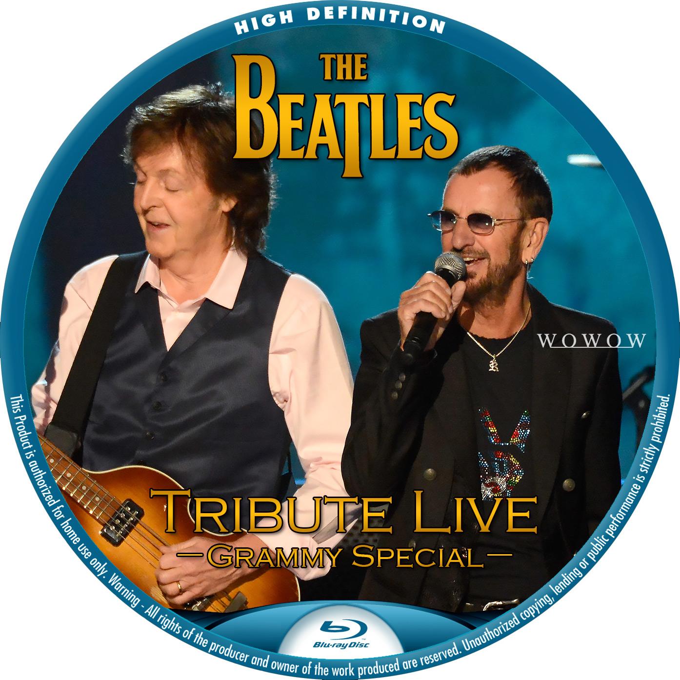 Beatles Grammy BDラベル