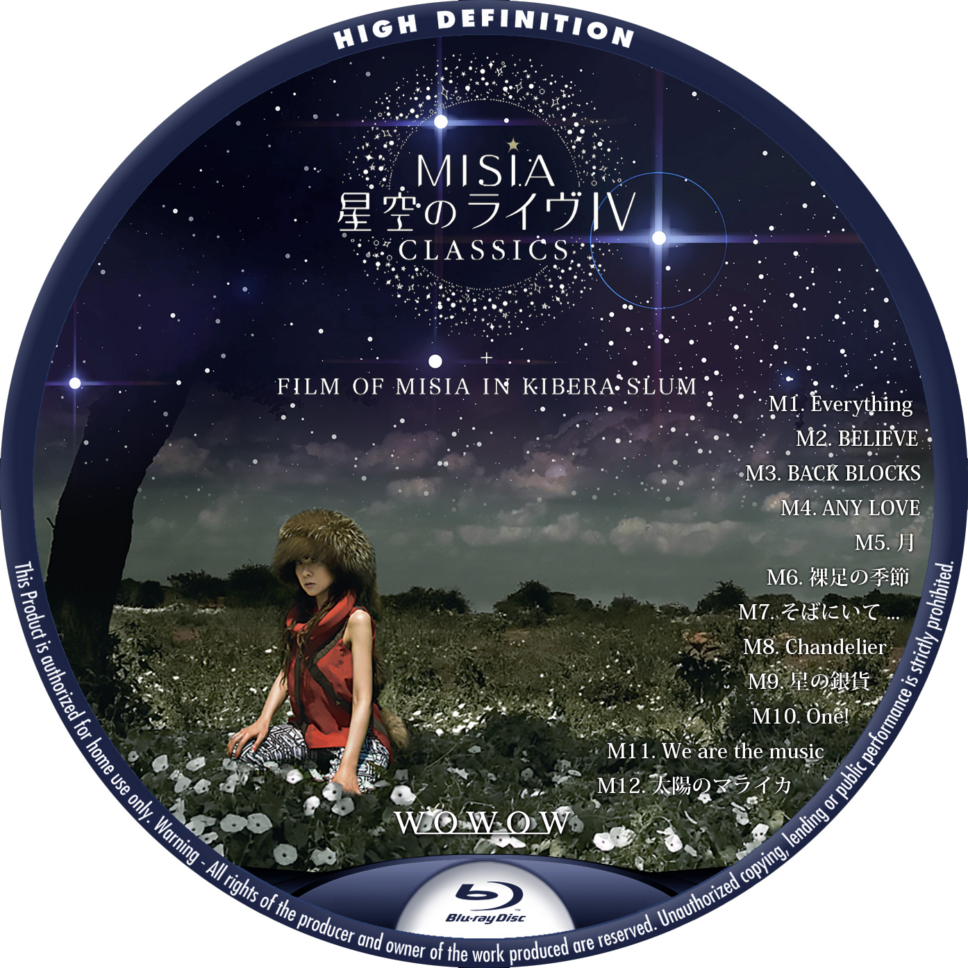 MISIA WOWOW IV BDラベル