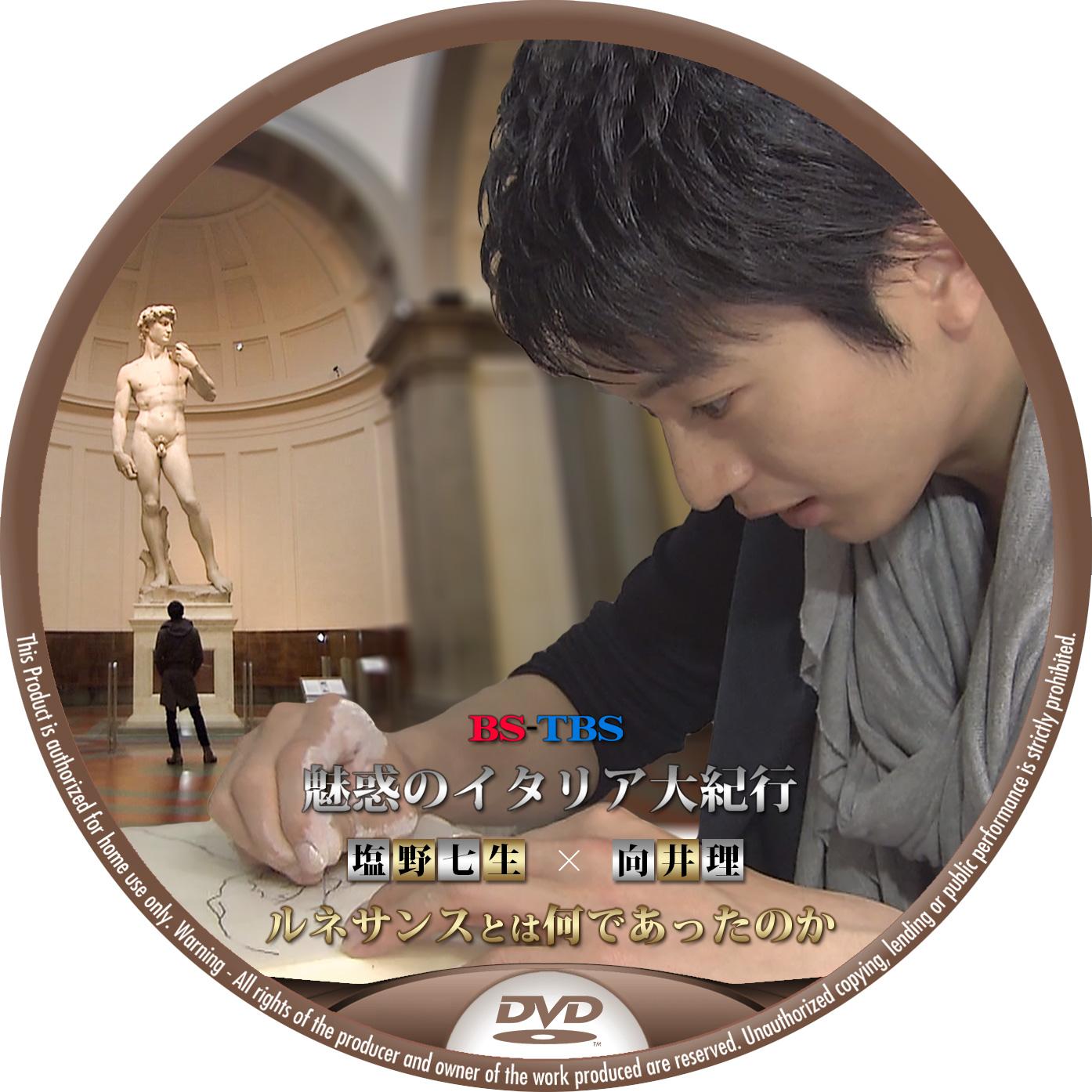 ルネサンズ 向井理 DVDラベル