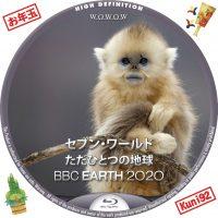 "<span class=""title"">保護中: BBC Earth 2020 セブン・ワールド ただひとつの地球</span>"