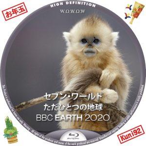 保護中: BBC Earth 2020 セブン・ワールド ただひとつの地球